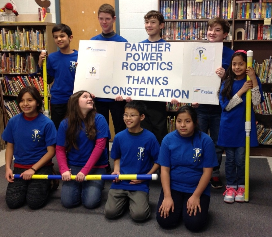 Panther Power Robotics Community Champion grant recipient