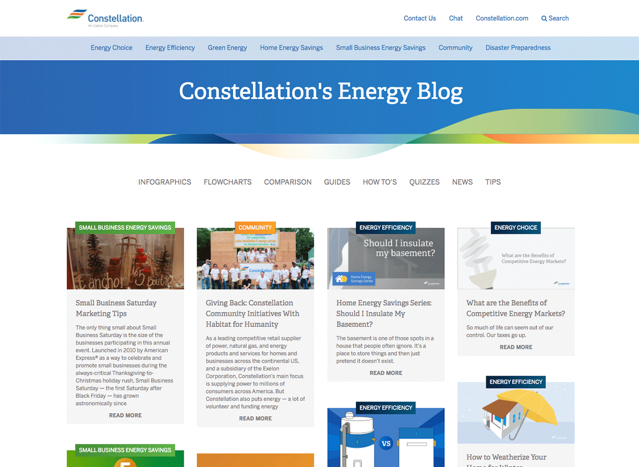Visit the Residential and Small Business Blog