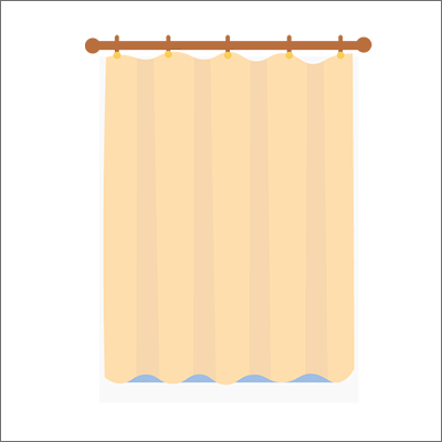 curtains vector art free download