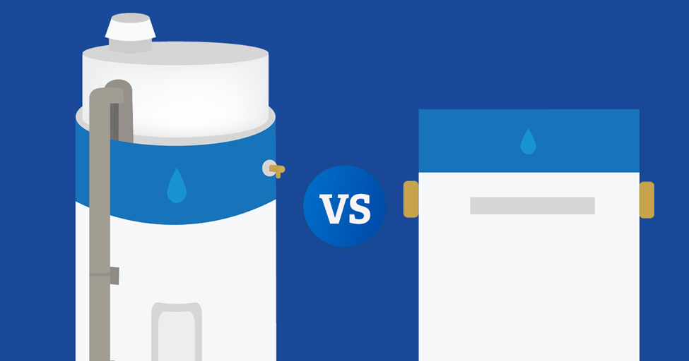 Tankless vs. Traditional Water Heaters