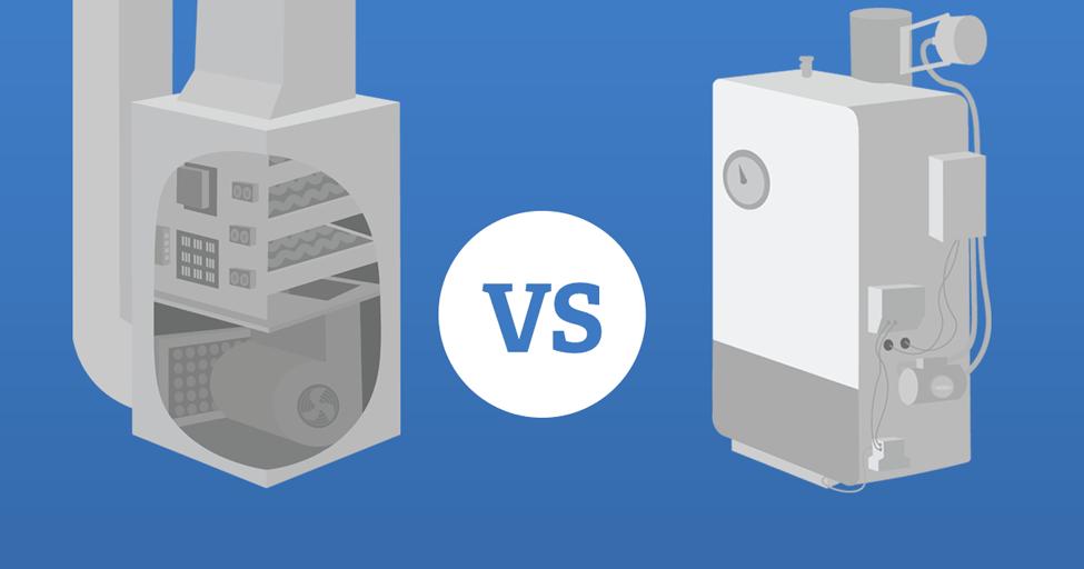 Boiler vs. Furnace