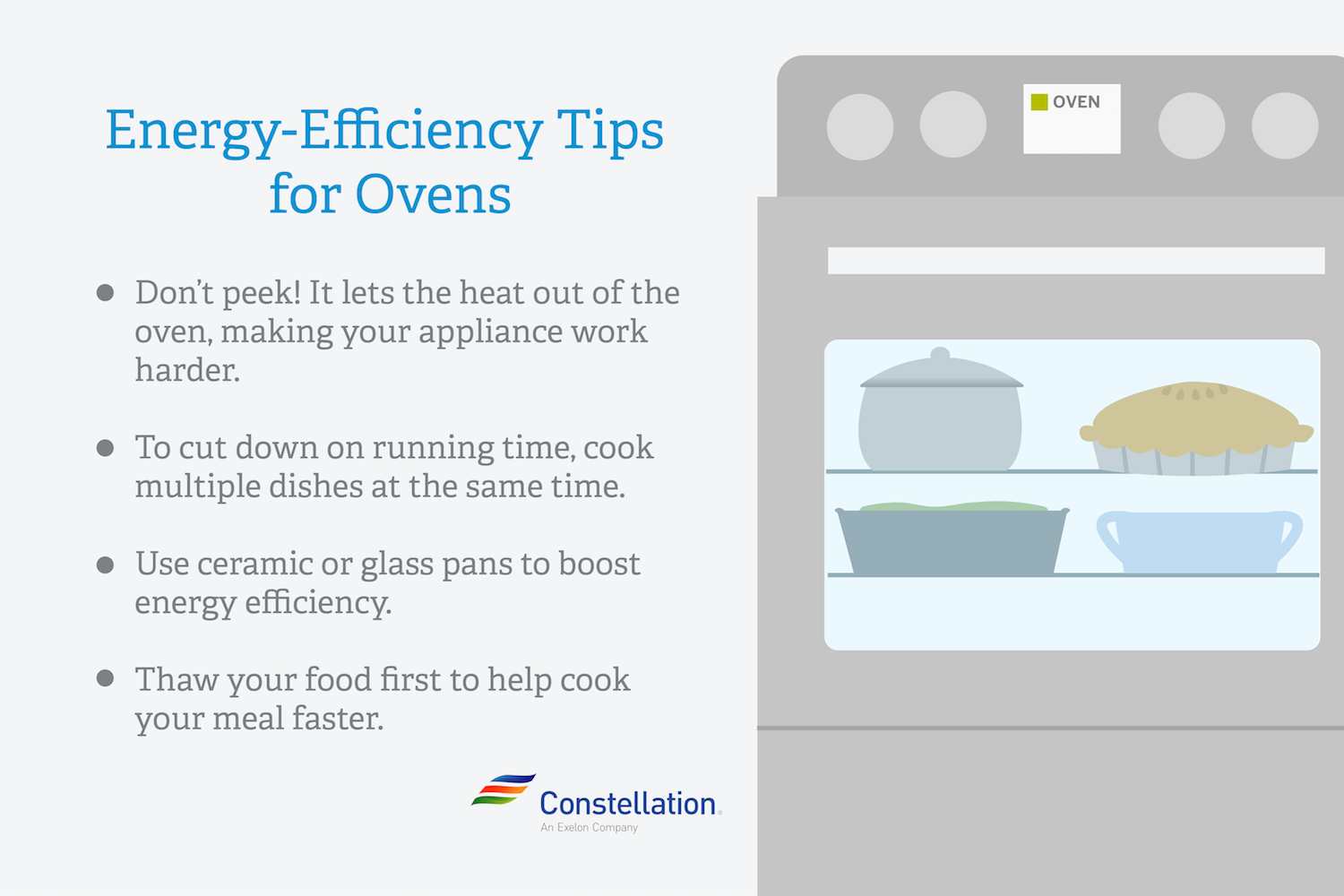 Energy Efficient Oven Tips