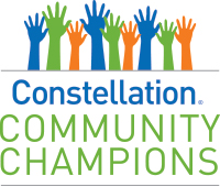 constellation community champions logo