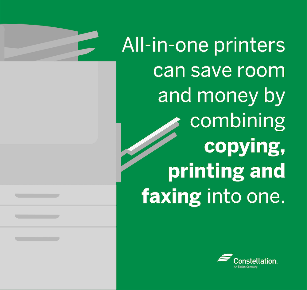 All-in-one printers can bring the best office copiers, printers, and fax machines together