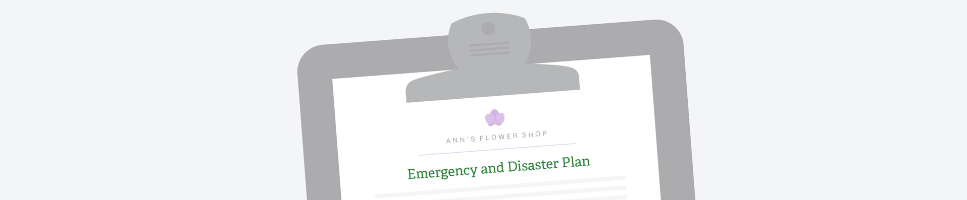 Establishing emergency recovery and disaster plan