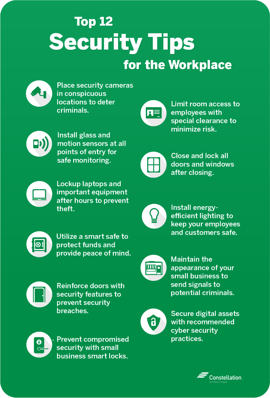 small business security workplace tips