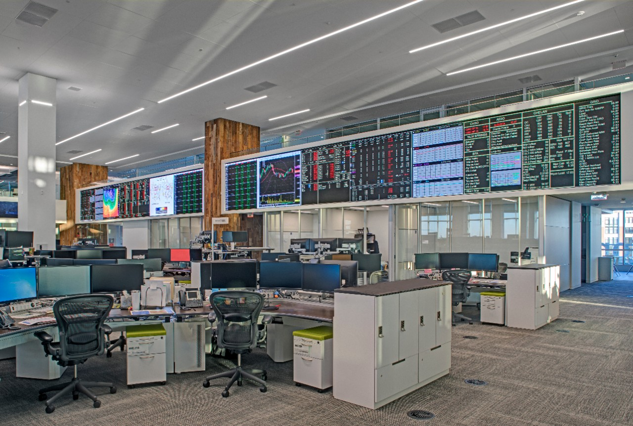 Constellation's 65,000-square-foot trading floor